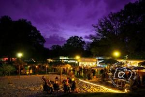 Lichterfest im Waldbad (Foto Heiko Hinze)