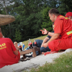 DLRG im Waldbad 2015 zum Zeltlager - Foto © Martin Lehmann