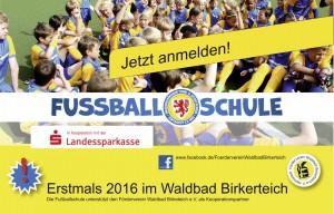 Fußballschule im Waldbad Helmstedt 2016