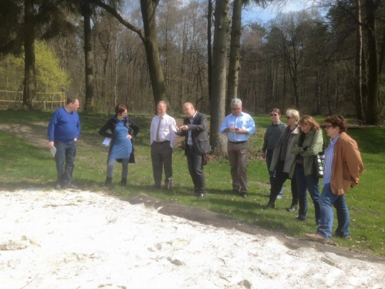 Gremium trifft sich zur Besprechung im Waldbad