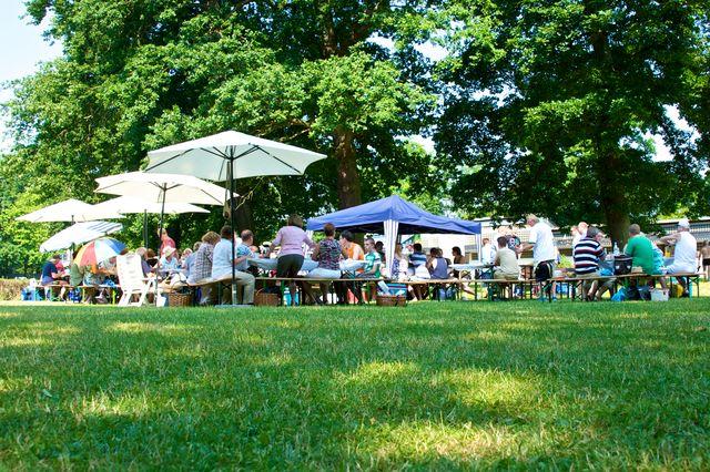 Bürgerfrühstück im Waldbad