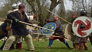 Mittelalterliche Kämpfer