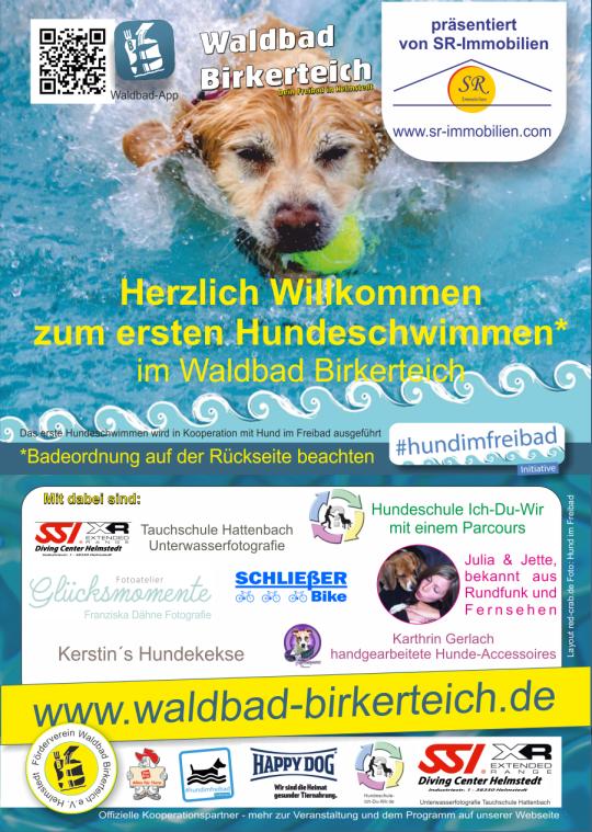 Badeordnung Hundeschwimmen 2016