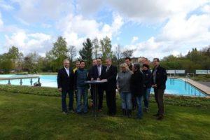 Waldbad Birkerteich Helmstedt und Freibad Grasleben kooperieren