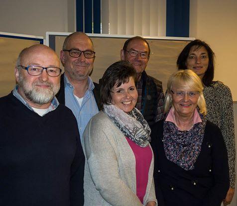 Vorstandsfoto nach Wahl 2017