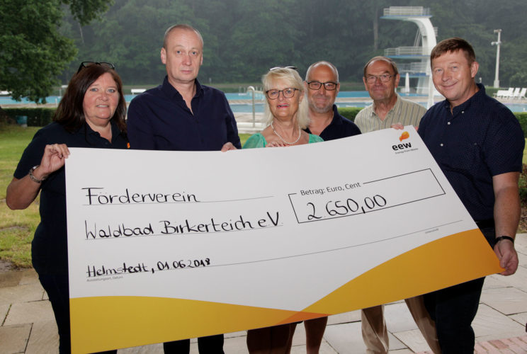 EEW GmbH hilft dem Waldbad
