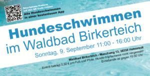 Saison 2018 im Waldbad Birkerteich verlängert !